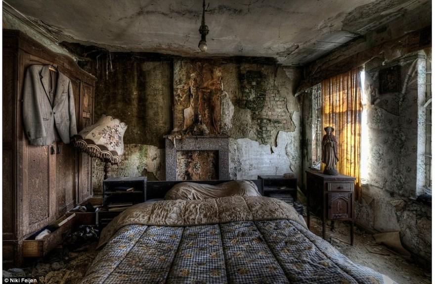Une chambre abandonnée