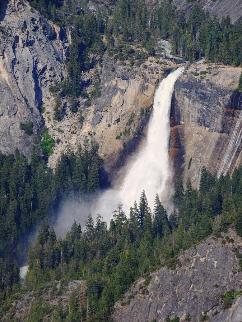 Les cascades au Nevada en Californie