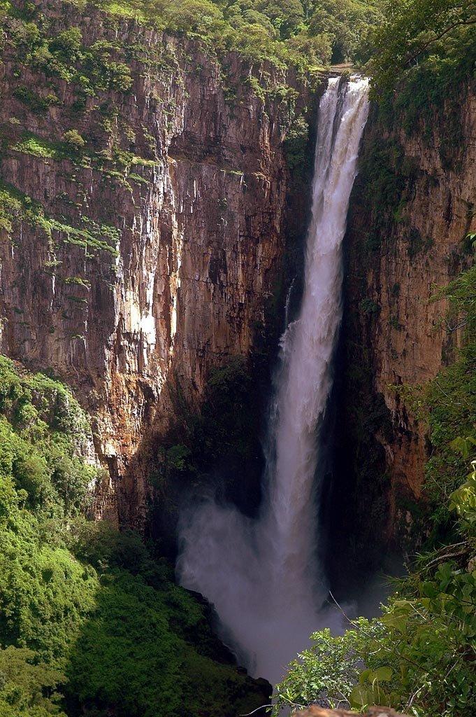 Les chutes de Kalambo en Zambie