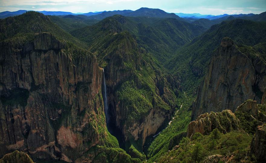 Les chutes de Piedra Volada au Mexique