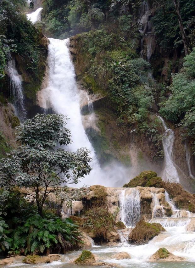 Les chutes Kuang Si au Laos