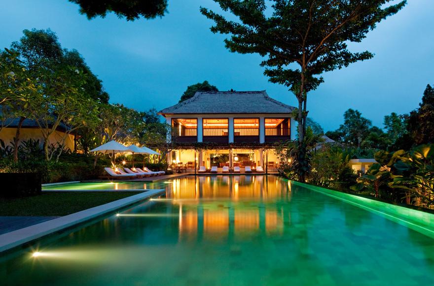 Piscine de l'hôtel Ubud à Bali