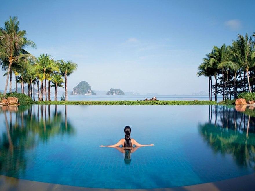 Piscine de Phulay Bay en Thaïlande