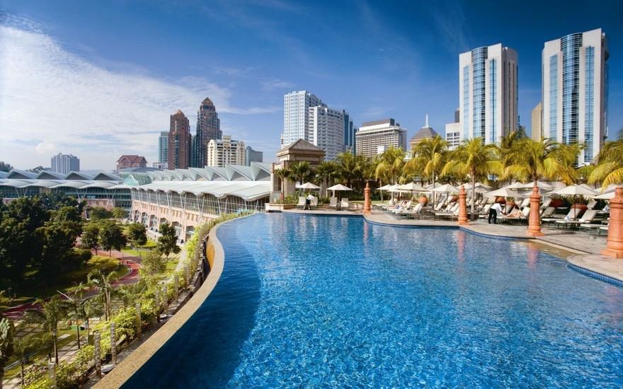 Piscine du Mandarin Oriental Kuala Lumpur