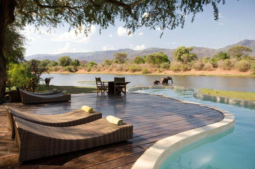 Piscine en Zambie
