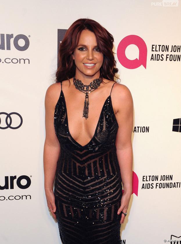 Le décolleté de Britney Spears aux Oscars 2014