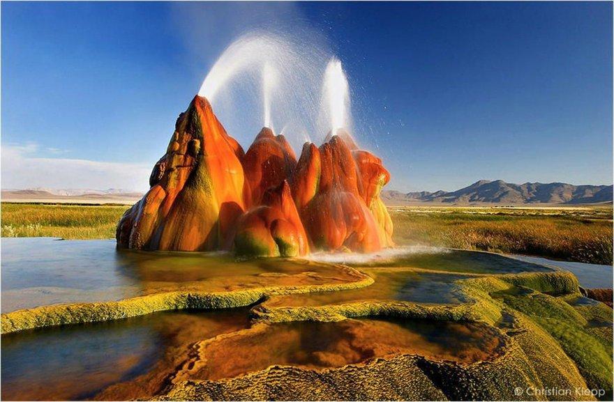 Le Fly Geyser du Nevada