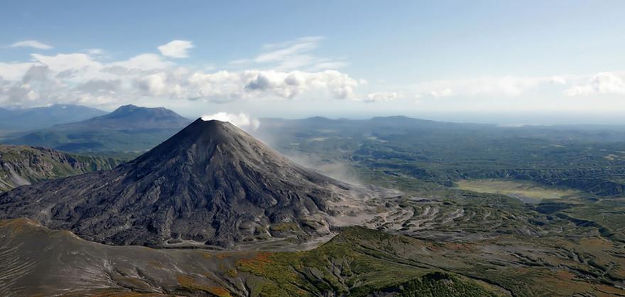Volcans de Kamchatka, Russie