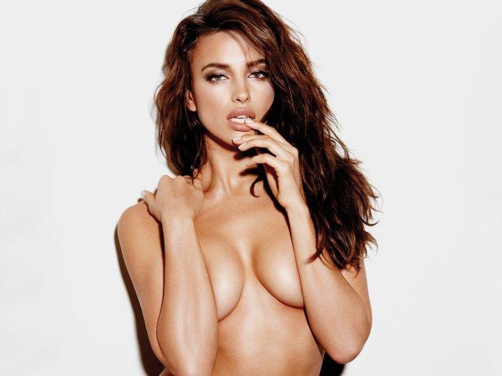 Les seins d'Irina Shayk