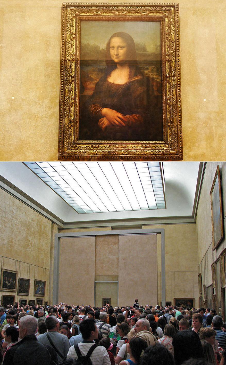 Mona Lisa au Louvre