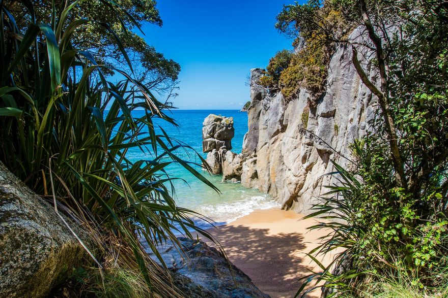 Tasman National Park, Nouvelle Zélande