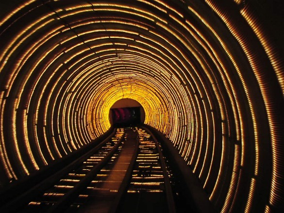 Métro Bund Tunnel à Shangaï