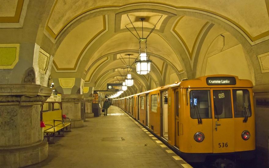Métro de Berlin en Allemagne