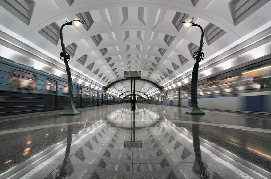 Slavyansky Bulvar Station à Moscow