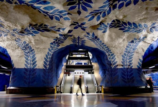 T-Centralen Station à Stockholm