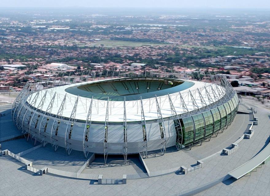 Arena Castelão au Brésil