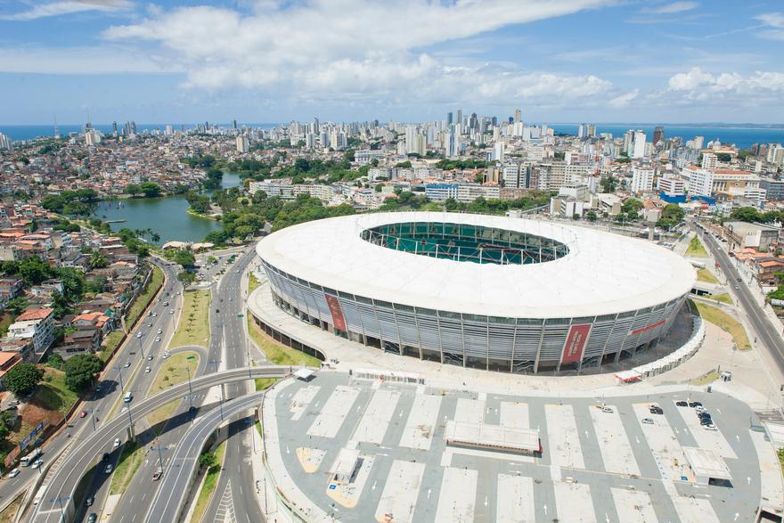 Arena Fonte Nova au Brésil