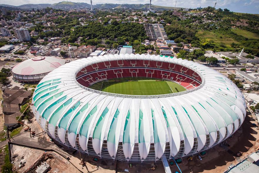 Stade Beira-Rio au Brésil