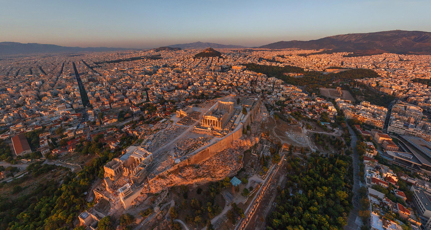 Athènes, en Grèce