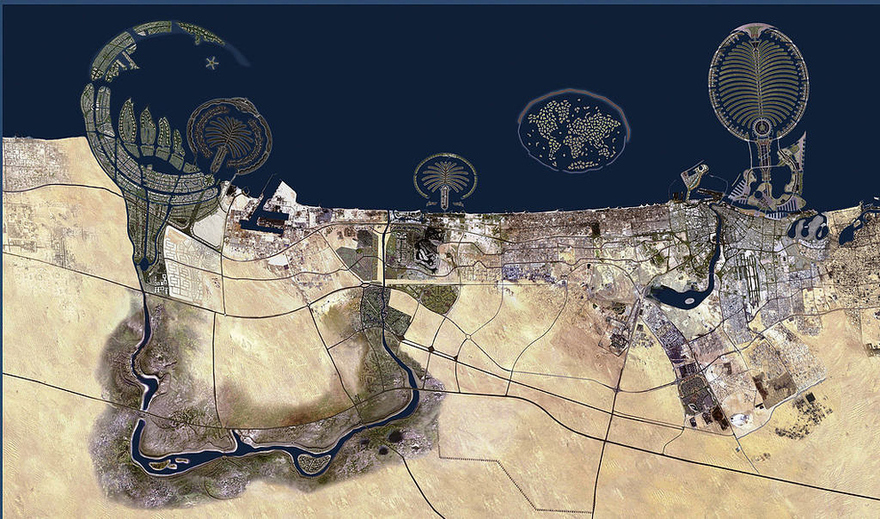 Dubaï, aux Émirats arabes unis