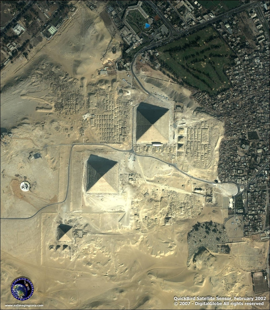 Gizeh, en Égypte