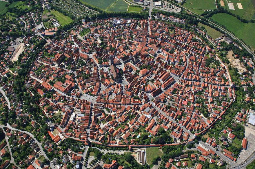 Nördlingen, en Allemagne