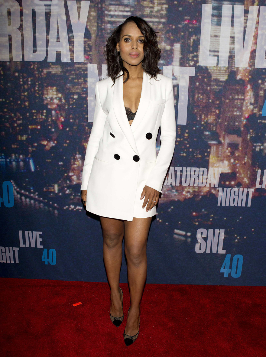 Ll'actrice américaine Kerry Washington
